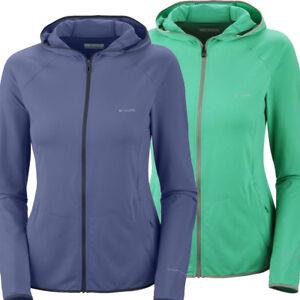 "New Womens Columbia ""Backcountry Meadow"" Omni-Wick Full Zip Hoodie Sweaters"
