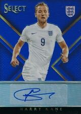2015-16 Panini Select Soccer Signatures Blue #SS-HK Harry Kane (England) 52/99