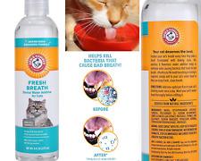 CAT WATER ADDITIVE Dental Care Kitten Oral Fresh Breath Teeth Hygiene 8 oz