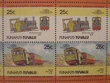 1923 ERYRI Snowdon Mountain Railway Train 50-Stamp Sheet (Leaders of the World)