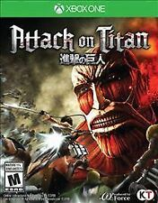 Attack on Titan for Xbox One Console Brand New Ships Fast Worldwide !!!