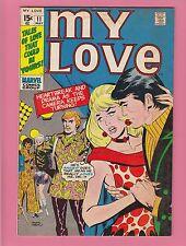My Love #11 Don Heck/GGA/Romance 1971 Marvel Comics