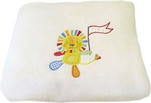 NEW Suncrest Jolly Jamboree Cotbed Toddler Bed Blanket Large 160 x 120cm