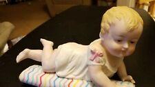 """New ListingVintage Andrea by Sadek 9.5"""" Reclining Baby Girl Piano Baby"""