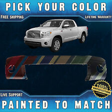 New Painted to Match- Front Bumper Cover Replacement For 2007-2013 Toyota Tundra