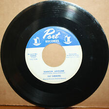 FAY SIMMONS I Can See Through You **HANGIN' AROUND** Jump Blues 45 on PORT 5002