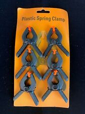 2 inch Plastic Spring Clamps Tips Clip Jaw Opening Small Tool