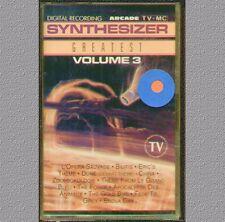 "SYNTHESIZER GREATEST SPACE MUSIC VOL.3 "" MUSICASSETTA  SIGILLATA"