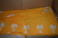 african senegalese  table cloths with 8 napkins, new, handmade, color: yellow