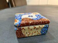 Rare Art Trencadis Gaudi Barcelona Mosaic Trinket Box
