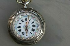 Steierische Taschenuhr 800 Silber Schweiz E. Gagnebin  Steirische
