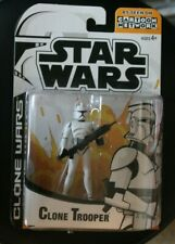 Clone Wars white trooper animated cartoon network star tartakovsky 3.75 inch""