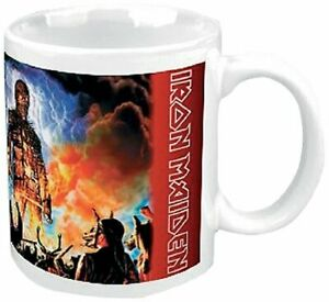 Iron Maiden Wicker Man Ceramic Coffee Mug (ro)