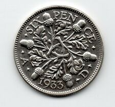 Great Britain - Engeland - 6 Pence 1933
