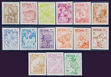 VIETNAM N°553/567** NON DENTELES 1984, Vietnam #1464-1478 IMPERF MNH