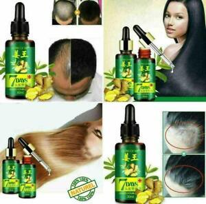 Regrow 7 Day Ginger Germinal Hair Growth Serum Hair Loss Treatment Oil 30ML