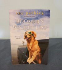 BOOMER'S BUCKET LIST by Sue Pethick (2017 Paperback) Very Good