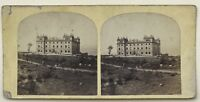 Château A Identificare UK Inghilterra UK ? Foto Vintage Stereo Albumina