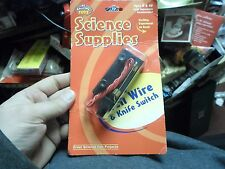 Great Science Fair projects Science Supplies Bell Wire and Switch NEW