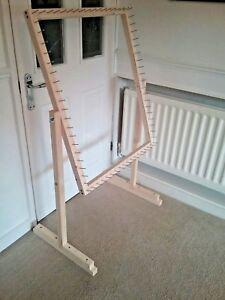 WOODEN STAND ONLY for pom pom blanket frame /weaving loom /embroidery frame