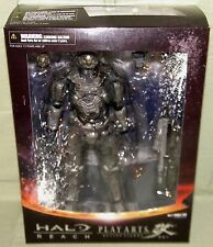HALO REACH NOBLE SIX ACTION FIGURE Square Enix Play Arts Kai Authentic Not Fake