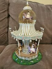 More details for rare disney store mary poppins merry go round carousel musical snow globe