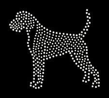 Boxer dog rhinestone bling transfer