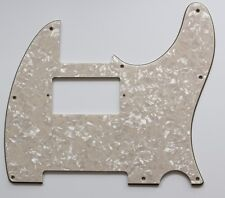 Telecaster guitar humbucker pickguard 4ply cream pearl brand new