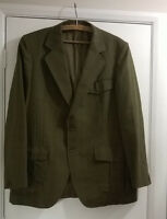 "Vintage Mens 44"" Chest DUNN & CO Check 100% Wool Blazer Sports Jacket Coat"