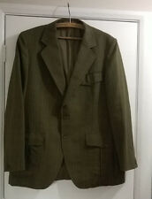 """Vintage Hombres 44"""" pecho Dunn & Co Check 100% Lana Abrigo Chaqueta Blazer Sports"""