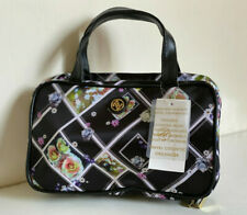 NEW! ADRIENNE VITTADINI JEWELRY TRAVEL MAKEUP COSMETIC HANGING BEAUTY KIT BAG