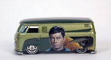 Hot Wheels Star Trek 50th Anniversary Volkswagen T1 Panel Bus Kombi McCoy Dieast