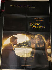 Before Sunset! '04 Hawke, Delpy Rare Classic Original U.S. Os Film Poster!
