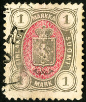 Finland Stamps # 35 VF Used Scott Value $25.00