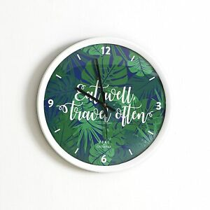 New Clock Handmade Wall Decor Round Plastic Wall Clock Watch Home unique gift