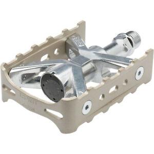 MKS Esprit Platform Road Pedals Silver