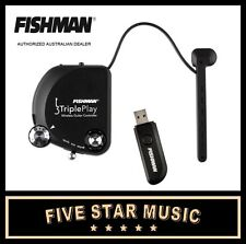 FISHMAN TRIPLE PLAY MIDI USB WIRELESS GUITAR PICKUP SYSTEM - NEW TRIPLEPLAY