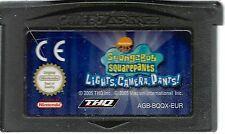 SPONGEBOB SQUAREPANTS LIGHTS, CAMERA, PANTS! for Game Boy Advance GBA
