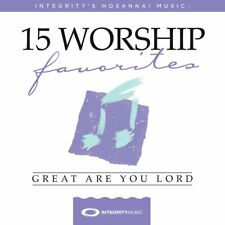 Hosanna! Music - 15 Worship Favorites - Great Are You Lord CD 2018 ** NEW **