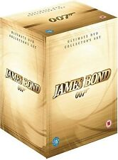 James Bond 007 - Ultimate DVD Collection Set Sean Connery, Roger Moore NEW