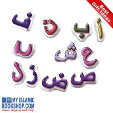 Arabic Alphabet Magnets Muslim Islamic Children Kids Toy Game Best Gift Ideas