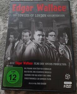 Edgar Wallace – Die Towers of London Gesamtedition – 5 DVDs – Klaus Kinski
