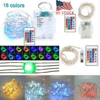 Multi-Color Changing 5M 50LEDs Wires String Fairy Lights Xmas Party Decoration