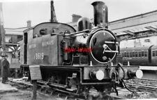 PHOTO  LNER CLASS J69 NO 8619 1951 RESPLENDENT LIVERPOOL STREET RAILWAY STATION