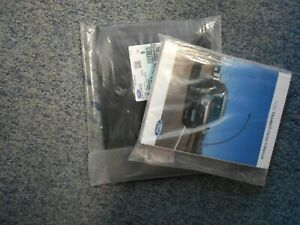 FORD TRANSIT OWNERS/ MANUAL HAND BOOK WITH GENUINE FORD WALLET (SEALED)