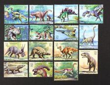 US 1997 #3136 The World of Dinosaurs Complete set of 15 in Singles Mint NH