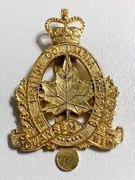 VINTAGE Canadian Forces British Columbia Dragoons BCD Militia Cap Badge