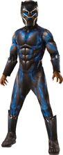 Rubie's Costume Deluxe Black Panther Child's Blue Medium
