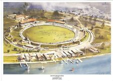 South Melbourne Ground Print Lakeside Oval 1960 275mm X 200mm Paul Crompton