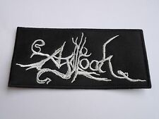 AGALLOCH EMBROIDERED LOGO ATMOSPHERIC FOLK DOOM METAL PATCH